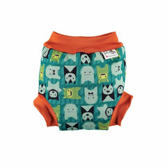 Close Pop-in Swim Nappy in Monster Herman