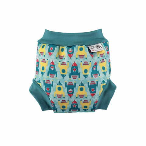 Close Pop-in Swim Nappy in Rocket