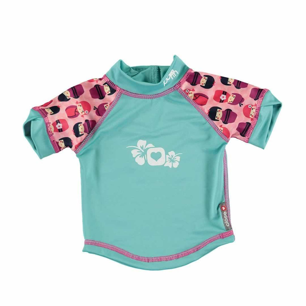 Close Rash Vest - Kokeshi Doll - Bodies & Vests - Natural Baby Shower