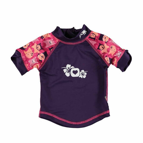 Close Rash Vest - Monster Edie-Swimwear- Natural Baby Shower