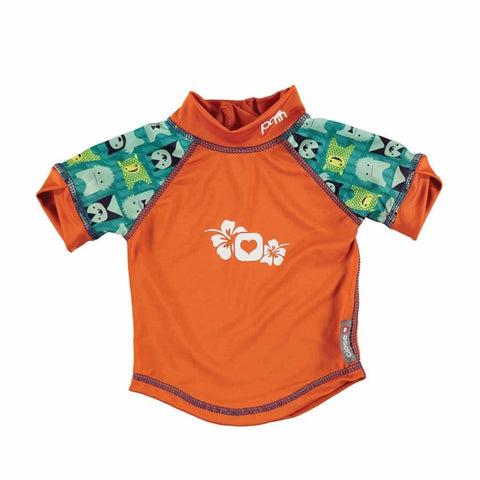 Close Rash Vest - Monster Herman-Swimwear- Natural Baby Shower