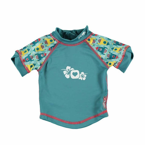 Close Rash Vest - Rocket - Bodies & Vests - Natural Baby Shower