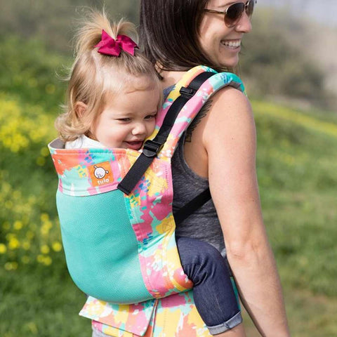 Tula Free-to-Grow Baby Carrier - Coast Paint Palette-Baby Carriers- Natural Baby Shower