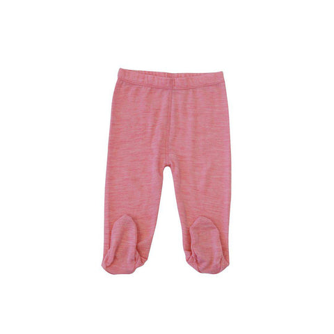 Merino Kids Leggings - Raspberry-Leggings-0-3m-Raspberry- Natural Baby Shower