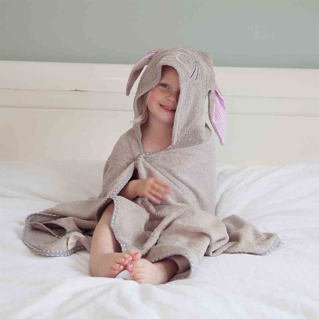 Cuddledry Cuddlebunny Toddler Bath Towel-Towels & Robes-Cuddlebunny-Toddler- Natural Baby Shower