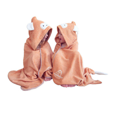 Cuddledry Cuddlemonkey Toddler Bath Towel-Towels & Robes-Cuddlemonkey-Toddler- Natural Baby Shower