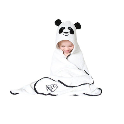 Cuddledry Cuddlepanda Child Bath Towel-Towels & Robes-Cuddlepanda-Child- Natural Baby Shower