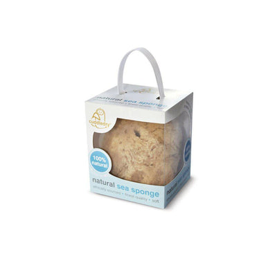 Cuddledry Natural Sea Sponge-Bathing Care- Natural Baby Shower