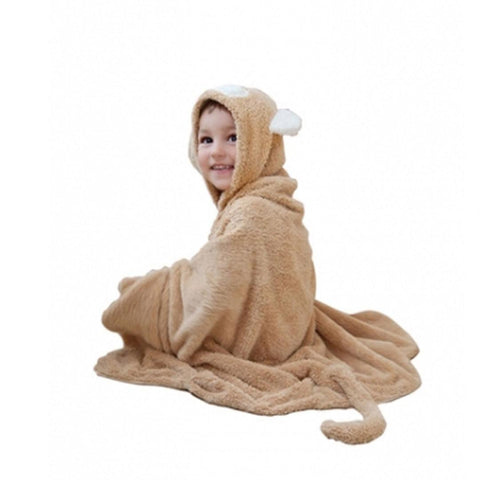 Cuddledry Snuggle Monkey Toddler Towel