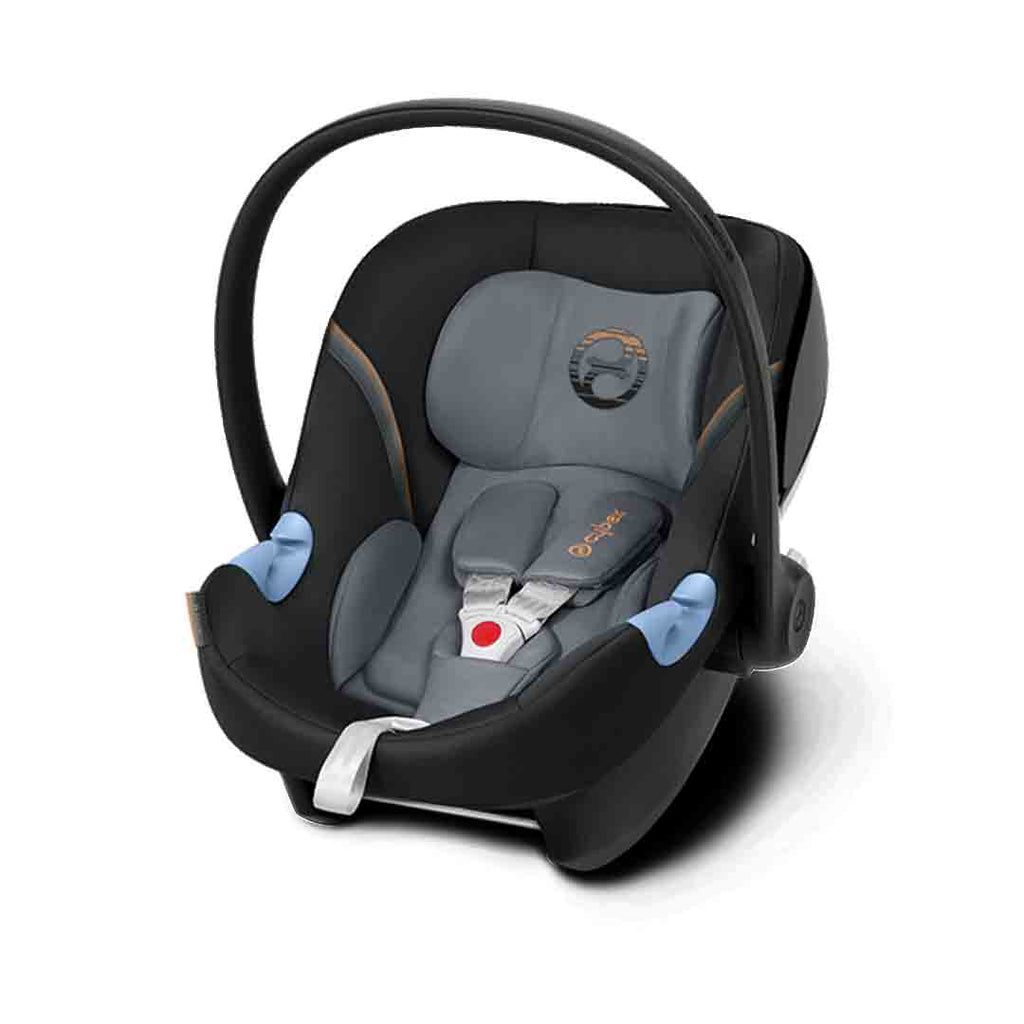 Cybex Aton M Car Seat - Pepper Black-Car Seats- Natural Baby Shower