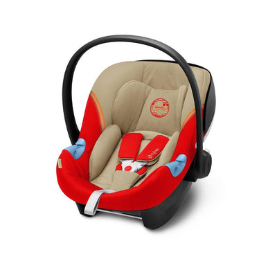 Cybex Aton M i-Size Car Seat - 2020 - Autumn Gold-Car Seats- Natural Baby Shower