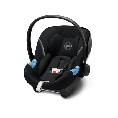 Cybex Aton M i-Size Car Seat - 2020 - Deep Black-Car Seats- Natural Baby Shower