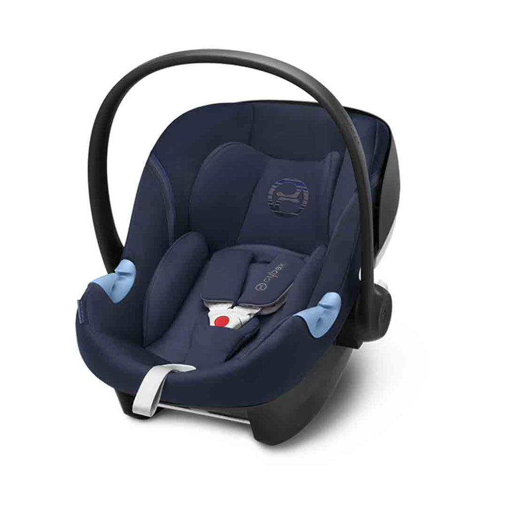 Cybex Aton M i-Size Car Seat - Denim Blue (2018)-Car Seats- Natural Baby Shower