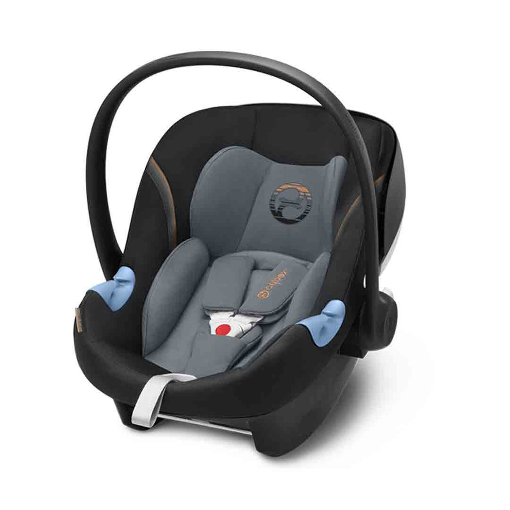 Cybex Aton M i-Size Car Seat - Pepper Black (2018)-Car Seats- Natural Baby Shower