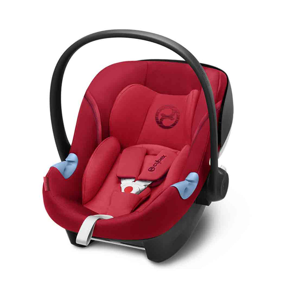 Cybex Aton M i-Size Car Seat - Rebel Red (2018)-Car Seats- Natural Baby Shower