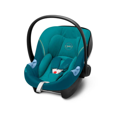 Cybex Aton M i-Size Car Seat - 2020 - River Blue-Car Seats- Natural Baby Shower