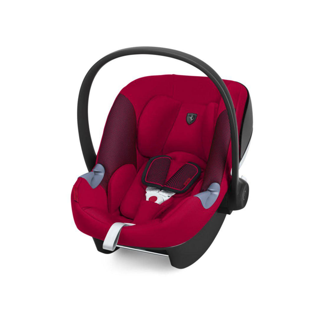 Cybex Aton M i-Size Car Seat - Scuderia Ferrari - Racing Red-Car Seats- Natural Baby Shower