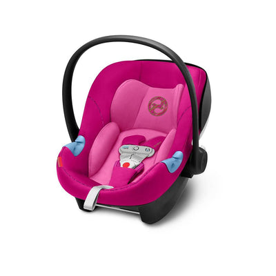 Cybex Aton M i-Size Car Seat with SensorSafe - Fancy Pink-Car Seats- Natural Baby Shower