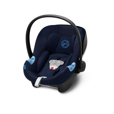 Cybex Aton M i-Size Car Seat with SensorSafe - Indigo Blue-Car Seats- Natural Baby Shower