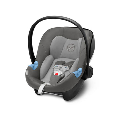 Cybex Aton M i-Size Car Seat with SensorSafe - Manhattan Grey-Car Seats- Natural Baby Shower