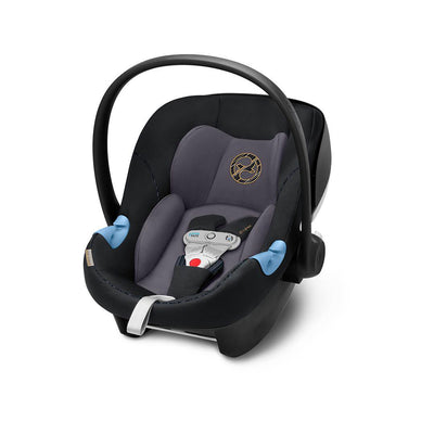 Cybex Aton M i-Size Car Seat with SensorSafe - Premium Black-Car Seats- Natural Baby Shower