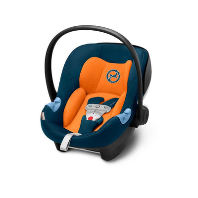 Cybex Aton M i-Size Car Seat with SensorSafe - Tropical Blue-Car Seats- Natural Baby Shower