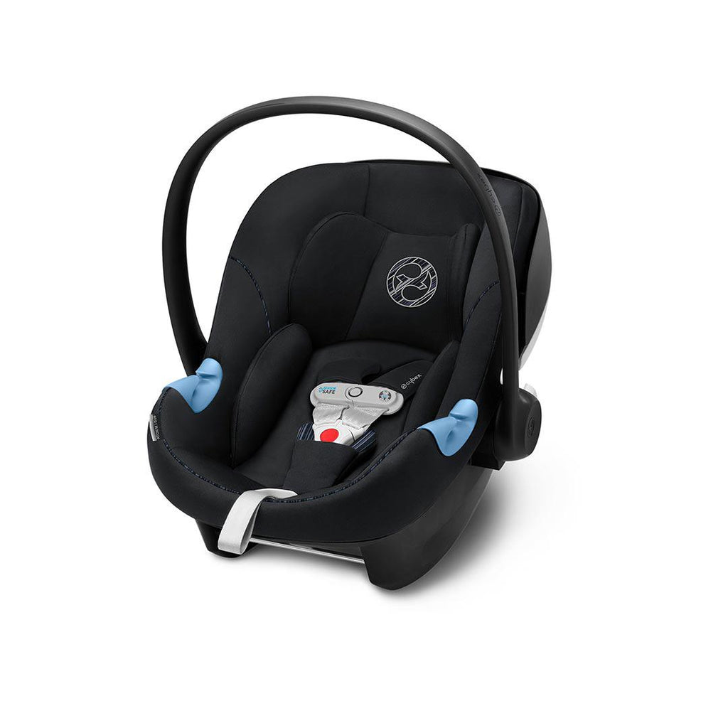 Cybex Aton M i-Size Car Seat with SensorSafe - Urban Black-Car Seats- Natural Baby Shower