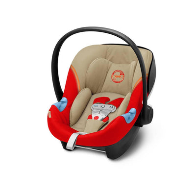 Cybex Aton M i-Size Car Seat with SensorSafe - 2020 - Autumn Gold-Car Seats- Natural Baby Shower