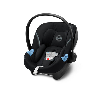 Cybex Aton M i-Size Car Seat with SensorSafe - 2020 - Deep Black-Car Seats- Natural Baby Shower