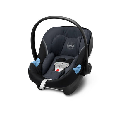 Cybex Aton M i-Size Car Seat with SensorSafe - 2020 - Granite Black-Car Seats- Natural Baby Shower