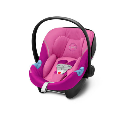 Cybex Aton M i-Size Car Seat with SensorSafe - 2020 - Magnolia Pink-Car Seats- Natural Baby Shower