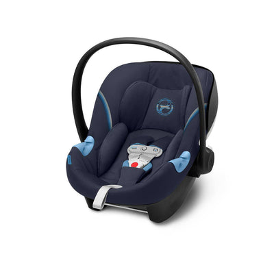 Cybex Aton M i-Size Car Seat with SensorSafe - 2020 - Navy Blue-Car Seats- Natural Baby Shower