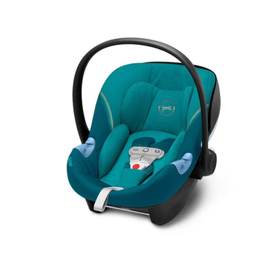 Cybex Aton M i-Size Car Seat with SensorSafe - 2020 - River Blue-Car Seats- Natural Baby Shower