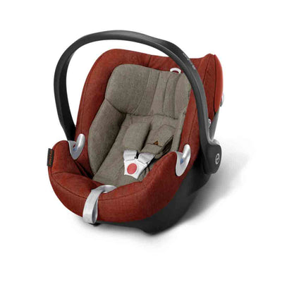 Cybex Aton Q Plus i-Size Car Seat - Autumn Gold-Car Seats- Natural Baby Shower