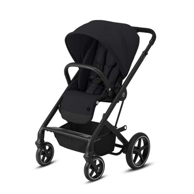 Cybex Balios S Lux Pushchair - Deep Black & Black-Strollers-None- Natural Baby Shower