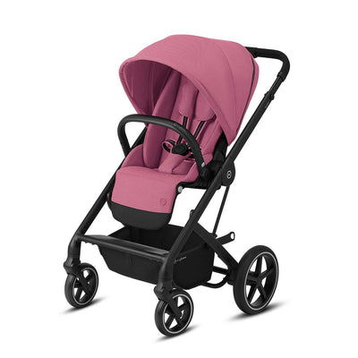 CYBEX Balios S Lux Pushchair - Magnolia Pink & Black-Strollers-None- Natural Baby Shower