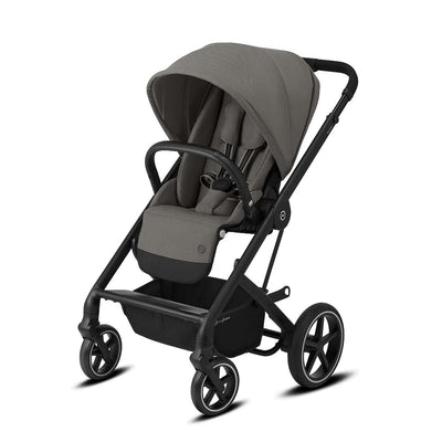 CYBEX Balios S Lux Pushchair - Soho Grey & Black-Strollers-None- Natural Baby Shower