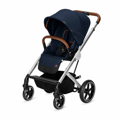 CYBEX Balios S Pushchair - Denim - Denim Blue - Ex-Display-Strollers- Natural Baby Shower