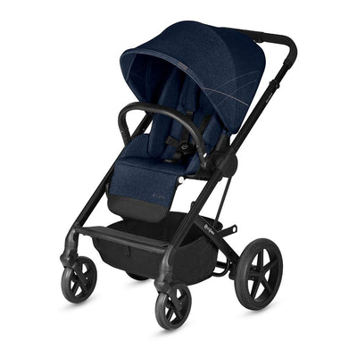 Cybex Balios S Pushchair - Denim Blue-Strollers- Natural Baby Shower