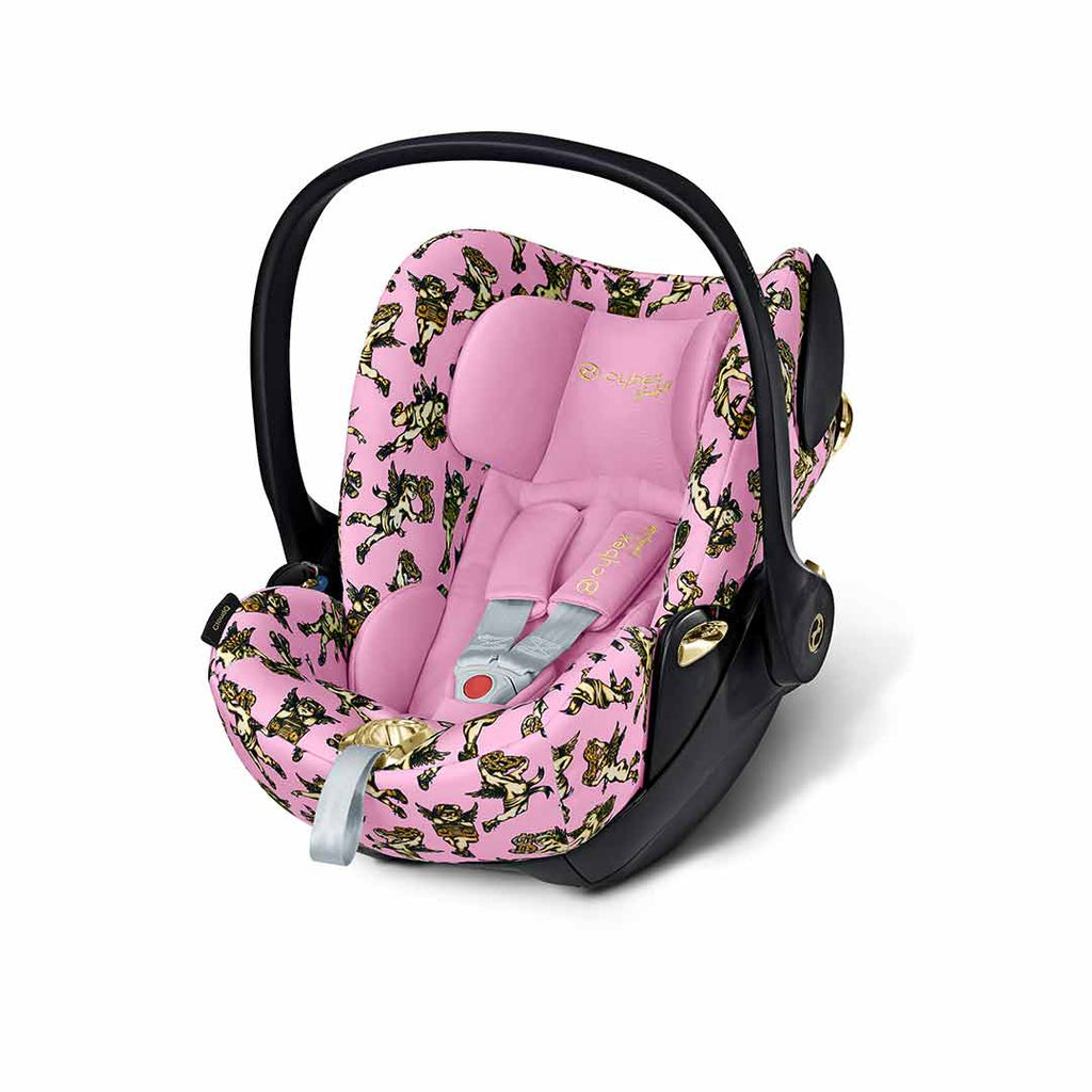 Cybex Cloud Q Car Seat - Cherub Pink by Jeremy Scott-Car Seats- Natural Baby Shower