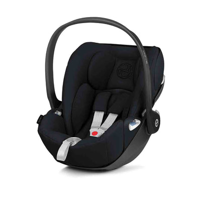 Cybex Cloud Z i-Size Car Seat - 2020 - Deep Black-Car Seats- Natural Baby Shower