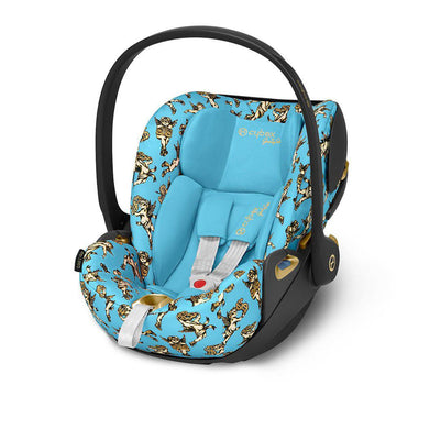CYBEX Cloud Z i-Size Car Seat - Cherub Blue by Jeremy Scott-Car Seats- Natural Baby Shower