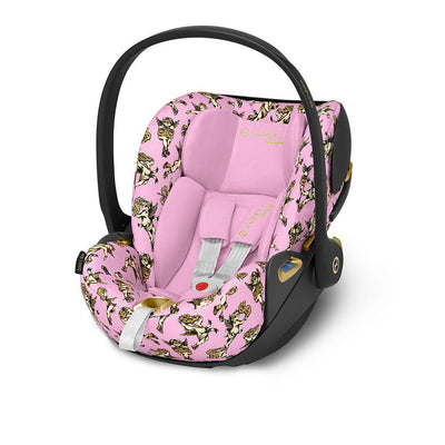 CYBEX Cloud Z i-Size Car Seat - Cherub Pink by Jeremy Scott-Car Seats- Natural Baby Shower