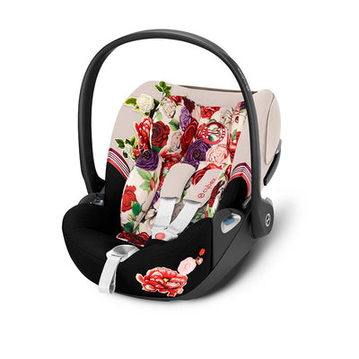 Cybex Cloud Z i-Size Car Seat - Spring Blossom - Light-Car Seats- Natural Baby Shower