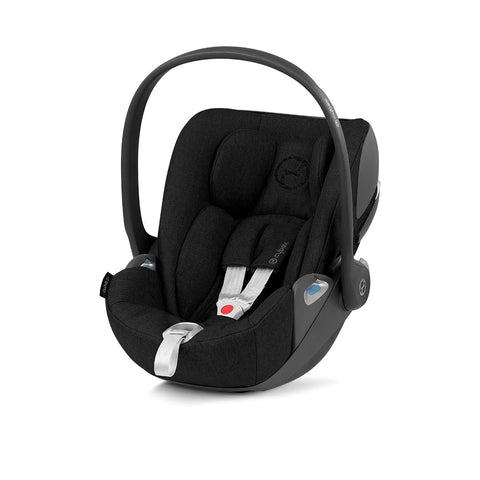 Cybex Cloud Z i-Size Plus Car Seat - 2020 - Deep Black-Car Seats- Natural Baby Shower