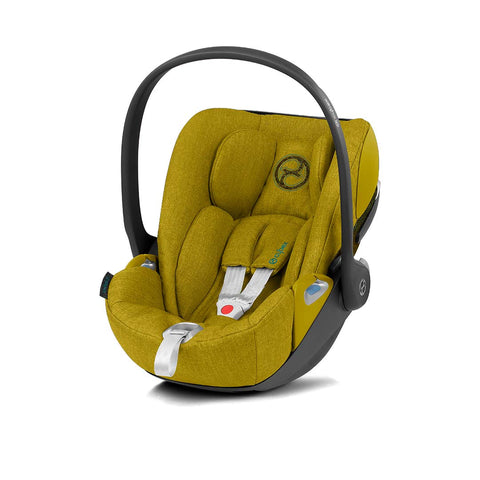 Cybex Cloud Z i-Size Plus Car Seat - 2020 - Mustard Yellow-Car Seats- Natural Baby Shower