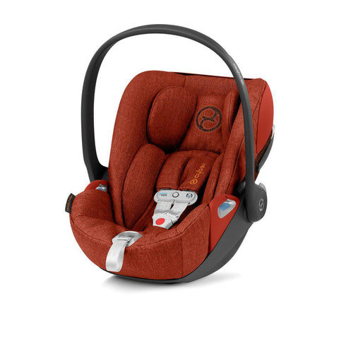 Cybex Cloud Z i-Size Plus Car Seat with SensorSafe - Autumn Gold-Car Seats- Natural Baby Shower