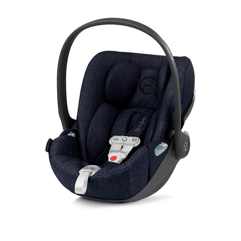 Cybex Cloud Z i-Size Plus Car Seat with SensorSafe - Midnight Blue-Car Seats- Natural Baby Shower