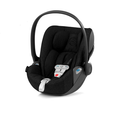 Cybex Cloud Z i-Size Plus Car Seat with SensorSafe - 2020 - Deep Black-Car Seats- Natural Baby Shower