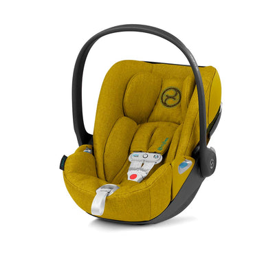 Cybex Cloud Z i-Size Plus Car Seat with SensorSafe - 2020 - Mustard Yellow-Car Seats- Natural Baby Shower